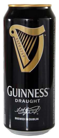 Guinness Draught Dosen 50 cl Irland