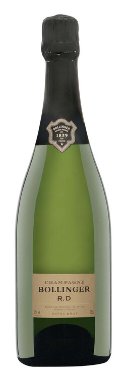 Champagne Bollinger R.D. Extra brut im Etui (auf Anfrage)