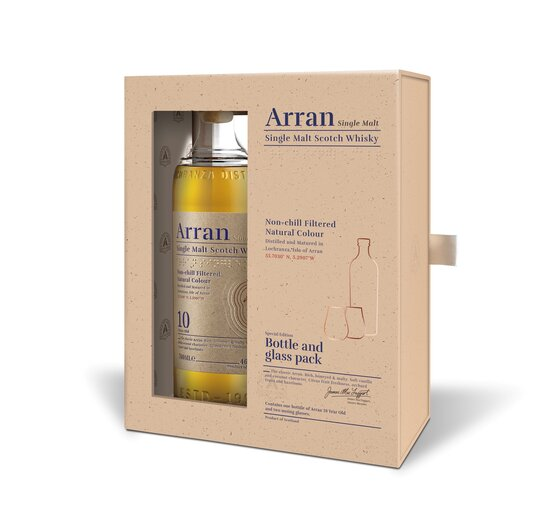 Whisky Arran Single Malt 10 years old 46° Isle of Arran