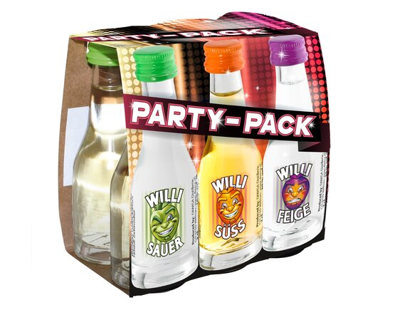 Willi's Party-Pack 6x2 cl Apfel/Feigen (Preis pro 6-Pack)