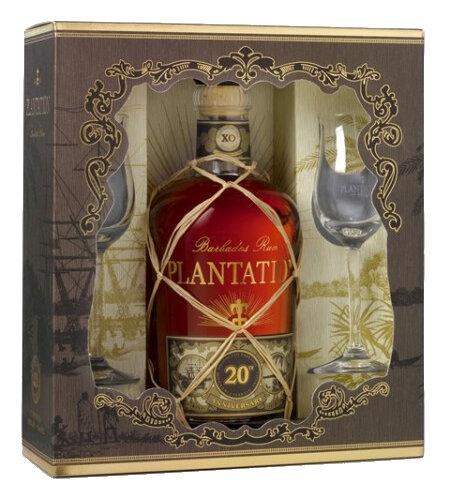 Rum Plantation XO 20th Anniversary Geschenk-Packung mit 2 ...